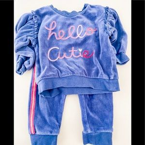 "First Impressions ""Hello Cutie"" Sweater Set"
